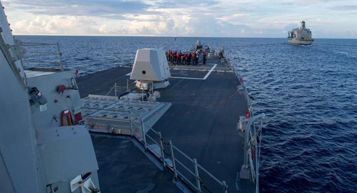Pekín califica de irresponsable el comportamiento de EEUU en el mar del Sur de China