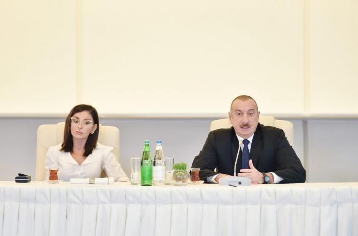 President Aliyev notes role of Heydar Aliyev Foundation, Mehriban Aliyeva in dev