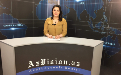 أخبارالفيديو باللغة الإنجليزية لAzVision.az-  فيديو(7مارس)