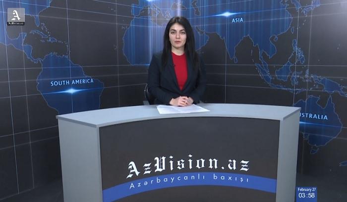 AzVision News: İngiliscə günün əsas xəbərləri (6 mart) - VİDEO
