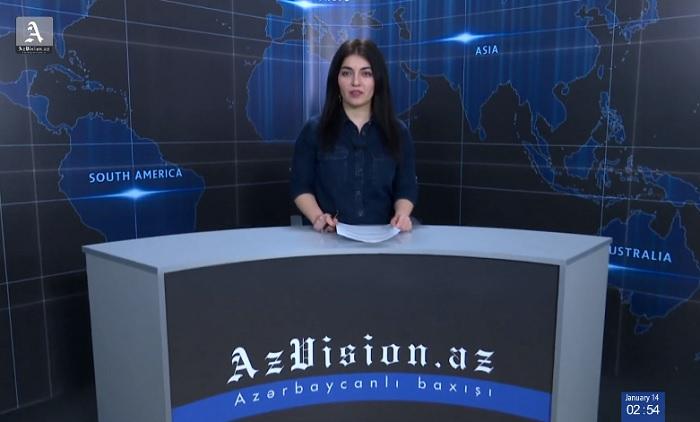 AzVision News: İngiliscə günün əsas xəbərləri (29 mart) - VİDEO