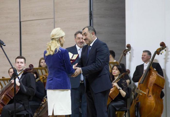 Azərbaycanlı heykəltaraş Ukraynanın Xalq artisti oldu - FOTO