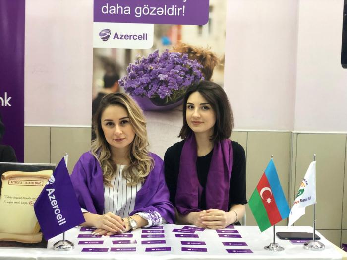 """""""Azercell"""" əmək sərgisində iştirak edib"""