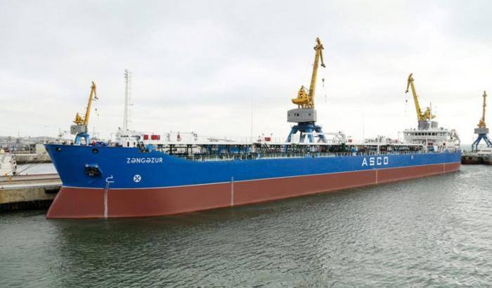 Zangezur tanker overhauled in Azerbaijan