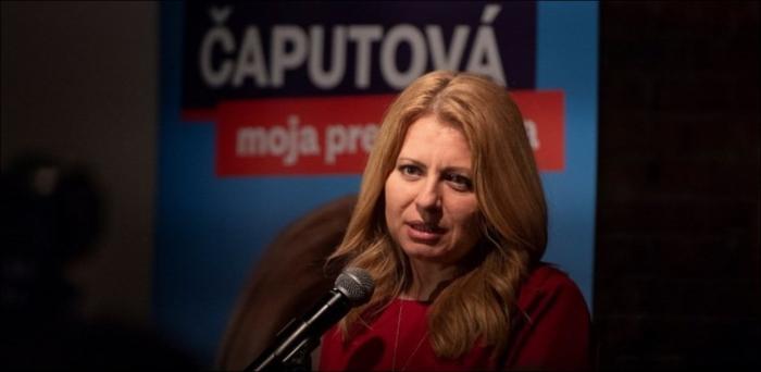 Présidentielle en Slovaquie:   la libérale Caputova en tête