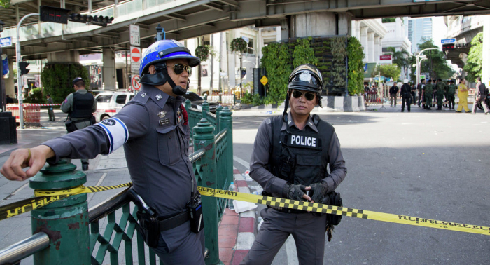 Seven bombs detonate in Thailand, another seven defused by police