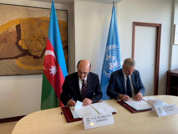 Azerbaijan, UNESCO sign agreement