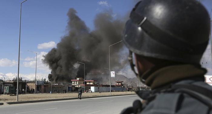 Varios miembros de las fuerzas afganas muertos en un ataque de EEUU contra una base afgana