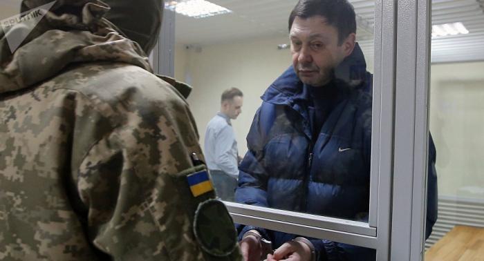 Moscú: el caso de Vishinski en Ucrania es el triunfo de la arbitrariedad