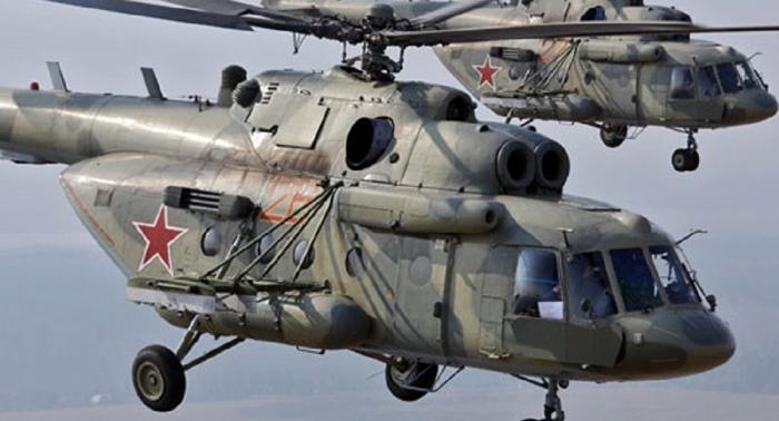 Vídeo: así coloca minas el helicóptero Mi-8 en pleno vuelo