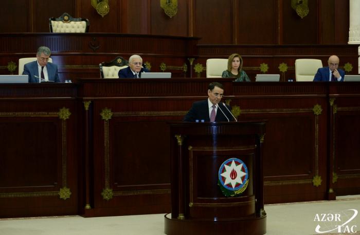 Parlament hökumətin hesabatını qəbul etdi - VİDEO (Yenilənib)