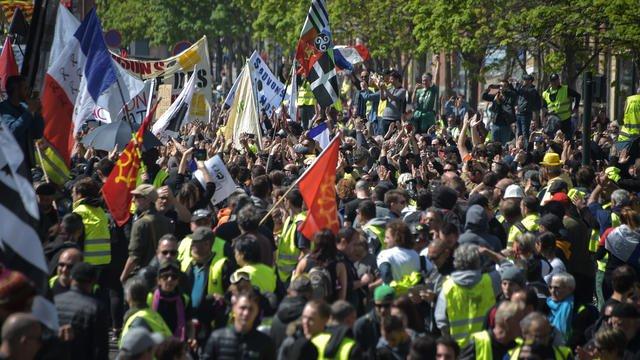 «Gilets jaunes»:   31.000 manifestants recensés ce samedi par l