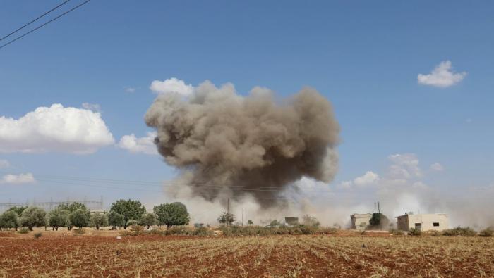 Syrie:   tirs d