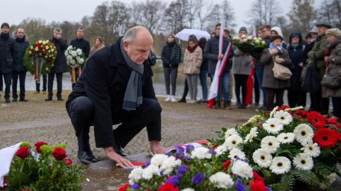 Gedenken an KZ-Befreiung in Brandenburg