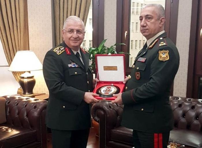 General Salahov Türkiyədə görüşlər keçirib - FOTOLAR
