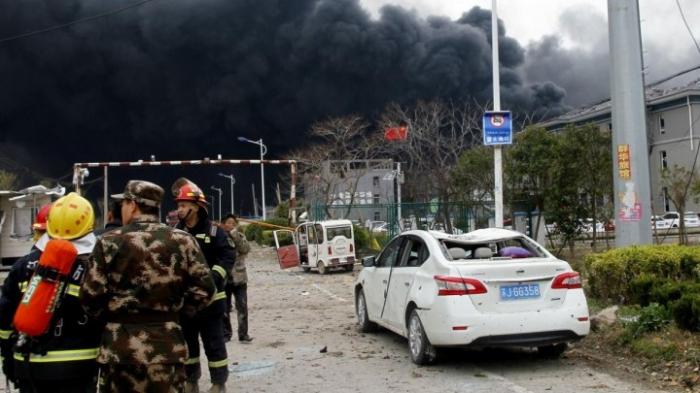 Zahlreiche Festnahmen nach Unglück in Chemiefabrik