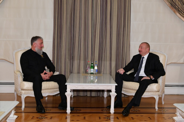 President Ilham Aliyev receives adviser to head of Chechen Republic