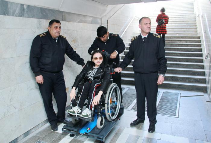 Əlillərin metrodan istifadəsi üçün işçi qrupu yaradılıb