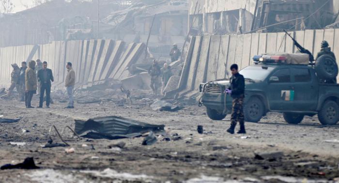 Əfqanıstandakı hücumda 8 polis ölüb