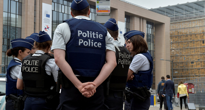 Belgian police arrest some 70 yellow vests during sunday climate march