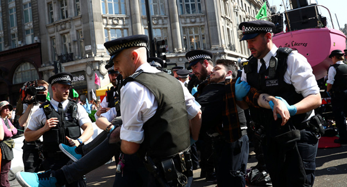 اعتقال 700 شخص إثر مظاهرات في لندن (فيديو)