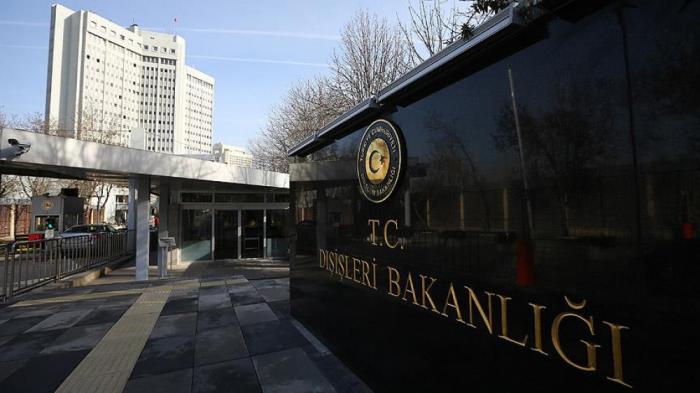 """Türkiyə XİN: """"Trampı ədalətli olmağa dəvət edirik"""""""