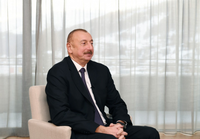 Ilham Aliyev a accordé un entretien à l'agence chinoise Xinhua