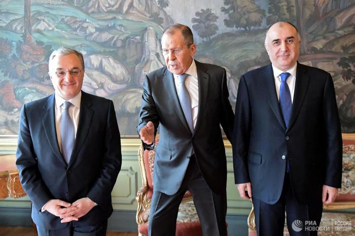 Nazirlərdən Moskva görüşü ilə bağlı birgə bəyanat - Yenilənib