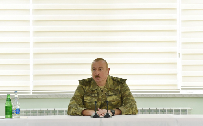 """Vienna meeting once again proved the existing format of negotiations"" - President Aliyev"