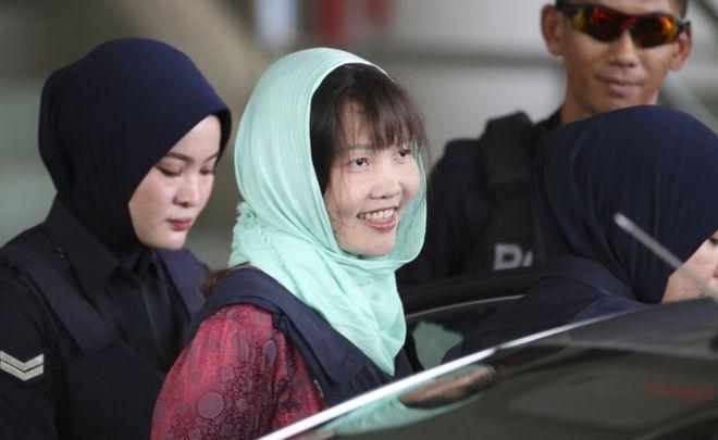 Kim Jong-nam murder: Vietnamese woman pleads guilty to lesser charge