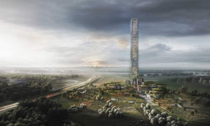 Western Europe's tallest skyscraper to be built in tiny Danish village