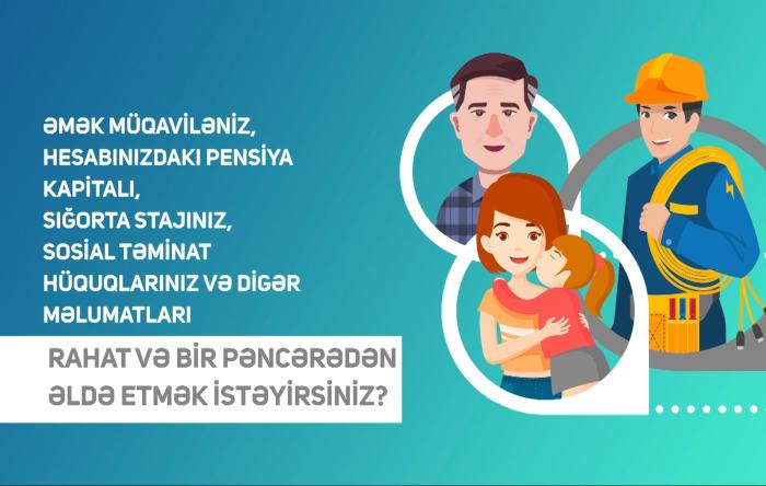 """""""E-sosial"""" internet portalı sosial reyestr formalaşdırıb - VİDEO"""