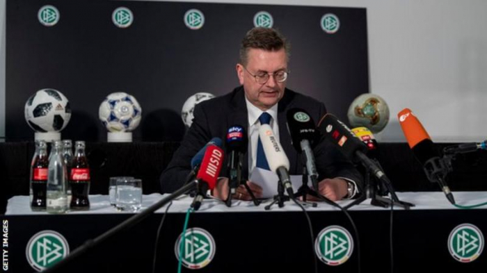 German FA president Reinhard Grindel resigns over watch gift
