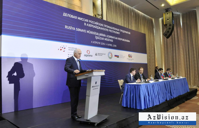 Azerbaijan-Russia trade turnover up 20% last year – minister