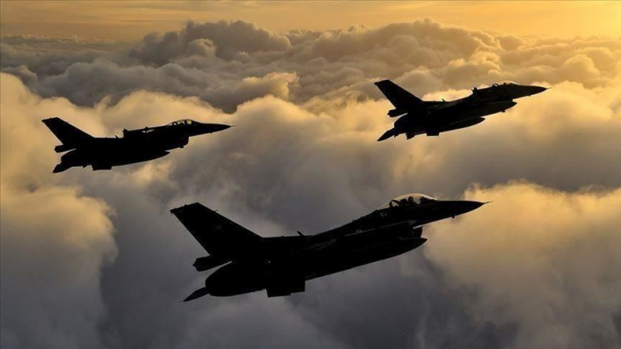 Turkish jets hit PKK terrorist targets in northern Iraq