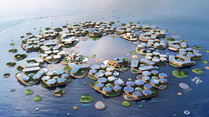 UN backs plans for hurricane-proof floating cities -  PHOTOS