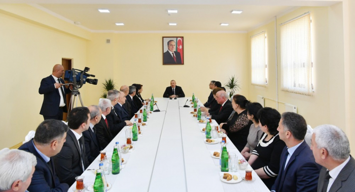 Historical justice is on the side of Azerbaijan -President Aliyev,UPDATED