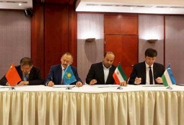 أوزبكستان تنضم إلى سكة الحديد بين الصين وكازاخستان وتركمانستان وإيران