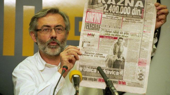 Slavko Curuvija murder: Serb spies jailed for killing journalist