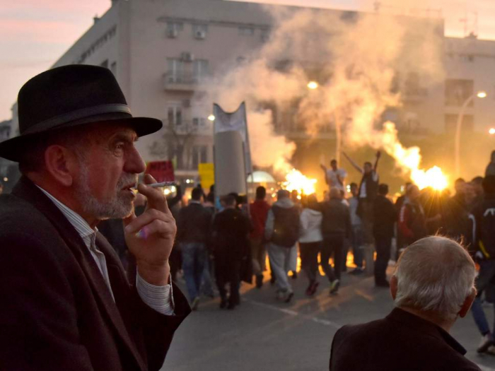 Anti-government protests in Montenegro, Serbia and Albania inspire hopes of 'Balkan Spring'