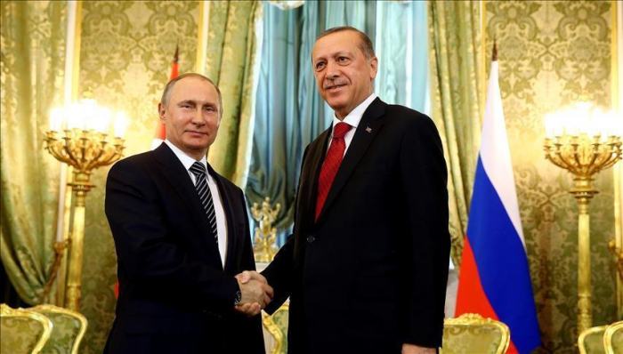 Putin meets with Erdogan in Moscow-  VIDEO