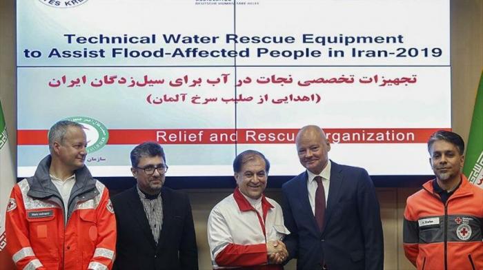 Alemania envía ayuda humanitaria a víctimas iraníes por las riadas
