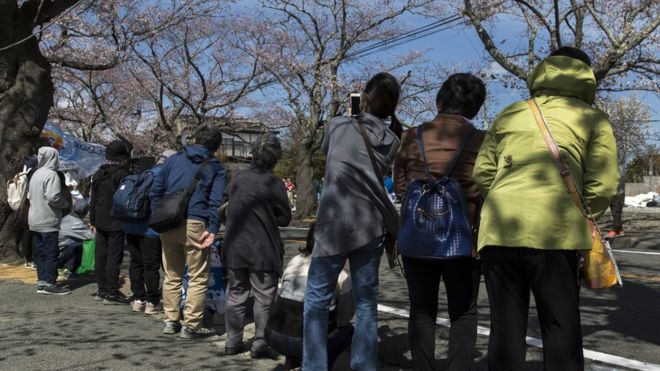 Fukushima nuclear disaster: Abandoned town allows first residents home