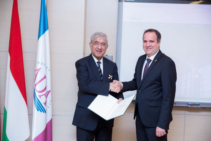 Hafiz Pashayev awarded high state order of Hungary