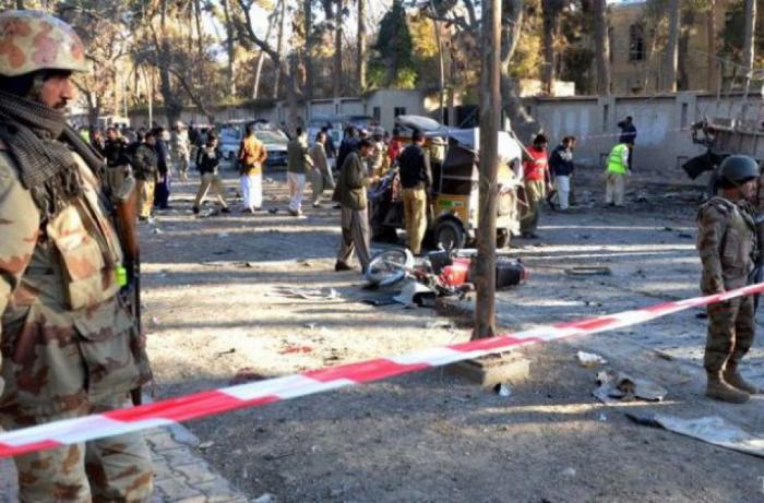 Pakistanda bazarda faciə: 16 ölü, 30 yaralı