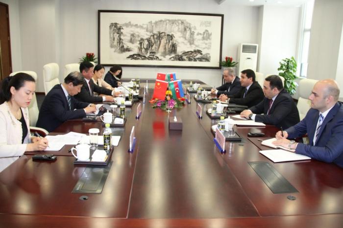 Achtung der territorialen Integrität und Souveränität der Staaten ist von eminenter Bedeutung für Aserbaidschan und China