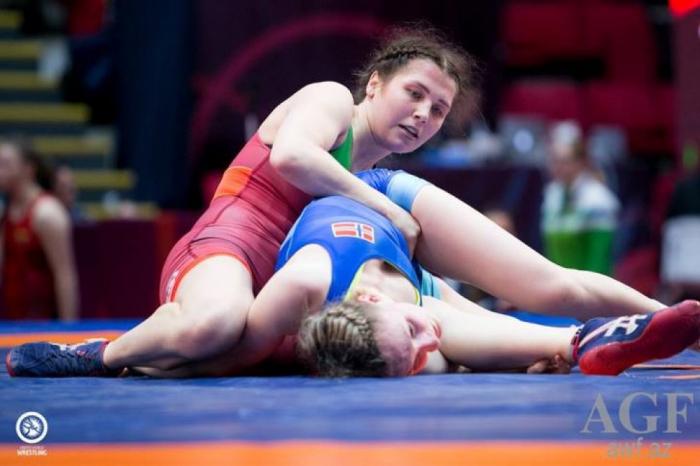 Aserbaidschanische Ringerinnen holen zwei Bronzemedaillen bei EM in Bukarest