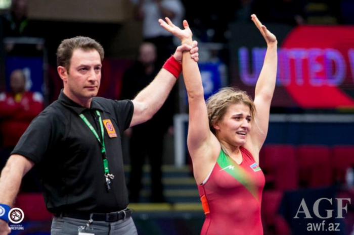 Une lutteuse azerbaïdjanaise remporte l'or à Bucarest