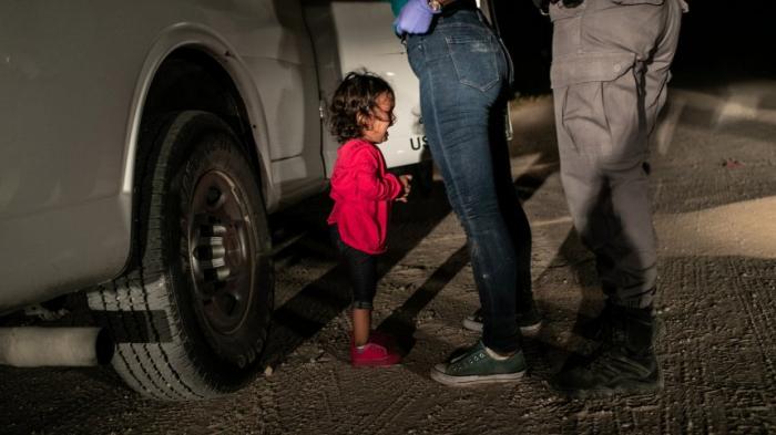 Weinendes Mädchen an US-Grenze ist Pressefoto des Jahres