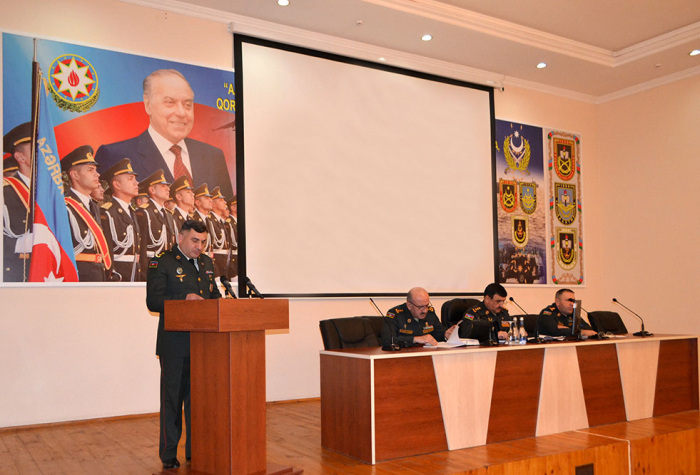 Azerbaijani Defense Ministry holds meeting on Q1 2019 results
